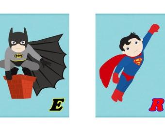 Nursery Wall Art Heros