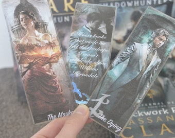 The Infernal Devices Bookmarks