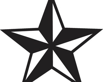 Nautical Star Decal Sticker 17 color options