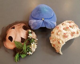 Group of (3) Vintage Ladies Hats