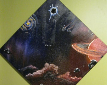Galaxy Space Universe Painting