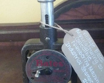 Vintage Bates Numbering Machine