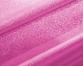 Mystique Hologram Fabric Neon Pink Color by the yard (Z3)