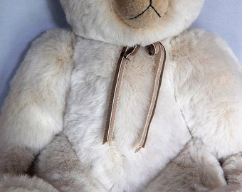 Who Me? Teddy bear. OOAK.