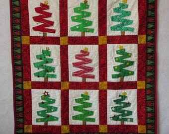 """Christmas Wall Hanging """"Christmas Arbor"""""""