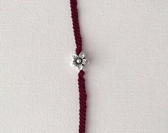 Flowered Friendship Bracelet