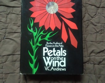 Vintage Petals on the Wind Book Club Edition Hard Back