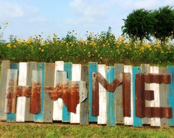 Rustic Word Sign