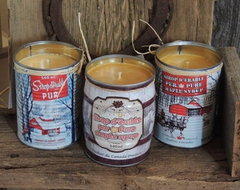 Maple Syrup Candles