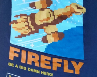 FIREFLY t-shirt, comic con, SCIFI,SYFY