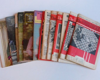 Lot of 13 Workbasket Mags 1963-1966  (317)
