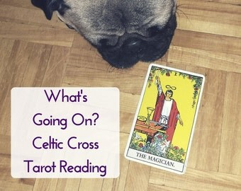 Celtic Cross Tarot Reading - Intuitive Psychic Divination Cartomancy (PDF by Email)