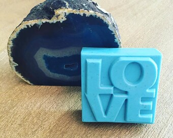 Goat's Milk Lavender Homemade Soap; All you need is love