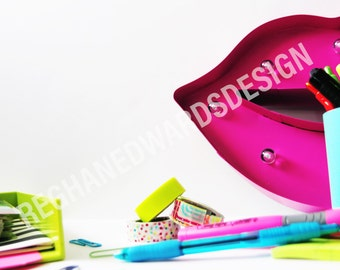 Colorful Office Stock Photo