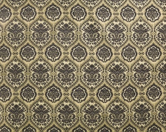 Drapery/Upholstery Home Decor Chenille Fabric Saxon1231 Grey by the Yard