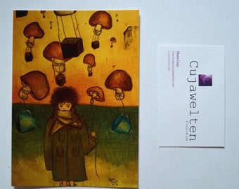 postcard illustration