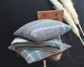 1950s Onkaparinga Lap Rug and Cushions