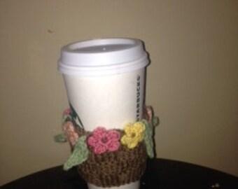 Floral Coffee Sleeve