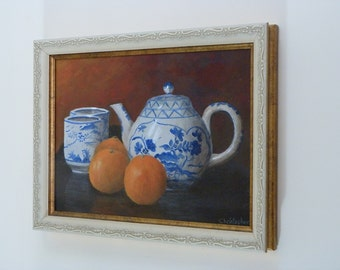 Tea and citrus - Original art