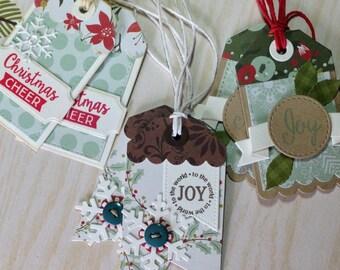 Christmas  Gift tags Set of 6