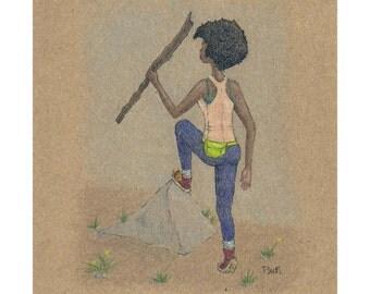 Black Women Hike (Print)