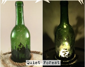 Wine Bottle Candle Holders (Series 2)