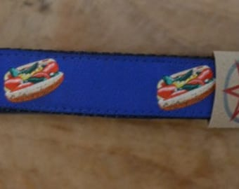 Chicago Style Hot Dog - Dog Collar - Large
