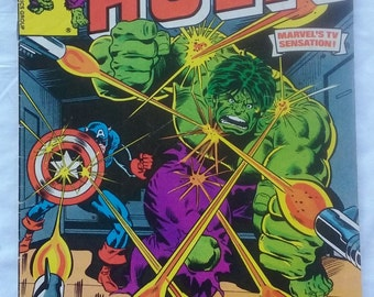 The Incredible Hulk Marvel Comics #232 1978.