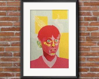 Gareth Keenan - The Office A3 Art Print