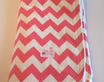 Made to Order-Chevron Chenille Blanket