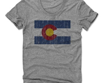 Colorado Flag Bry Women's Scoop Neck T-shirt (am)