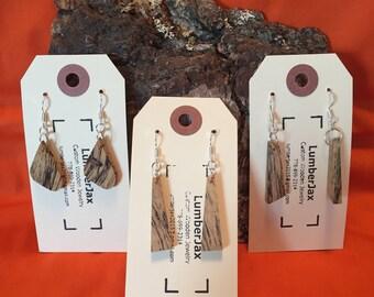 Spalted Tamarind Wooden Earrings