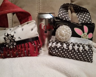 Purse pin cushions made to order.