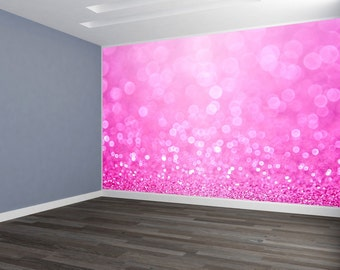 Sparkle Pink & Blue Wallpaper HUGE