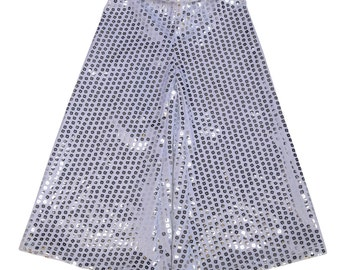Silver Shimmer Palazzo  girls