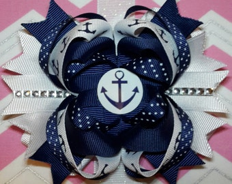 Navy Anchor Bow
