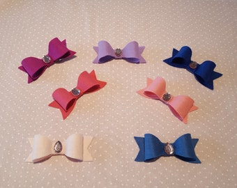 Jeweled Hair bows