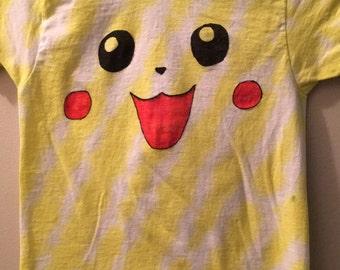 Pikachu Tie-dye shirt