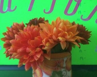 Small Pumpkin flower arrangement