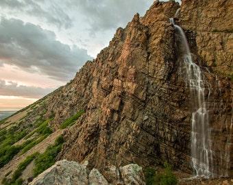 Waterfall Canyon Sunset