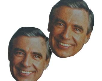 Mr. Rogers Earrings