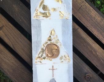 4x12 Gold leaf chapel