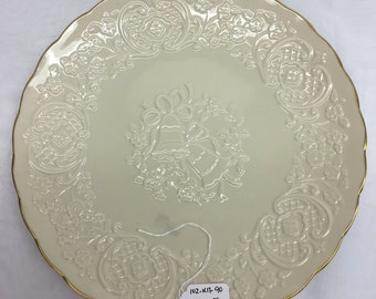 Lenox China Marriage Plate