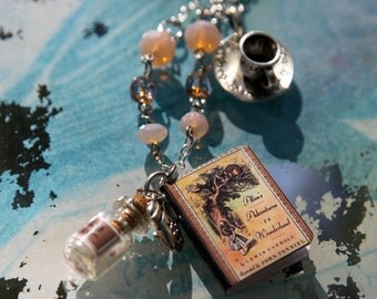 Alice In Wonderland Jewelry Set