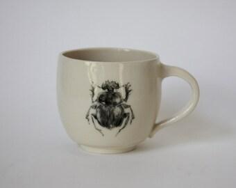 Dung Beetle Mug/PLanter