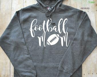 Football Mom Hoodie Sweatshirt