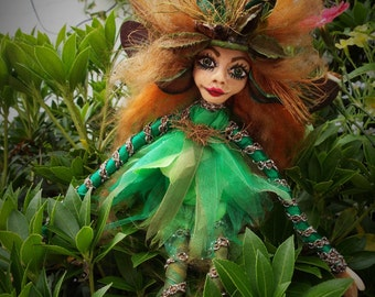 Acorn the Fairy handcrafted by Mazkrafts