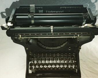 Rare antique 1914 Underwood No3 Typewriter in Excellent working condition