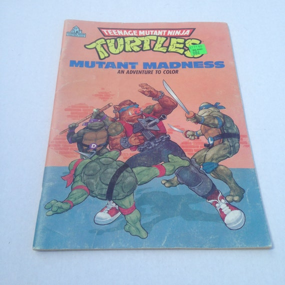like this item - Teenage Mutant Ninja Turtles Coloring Book