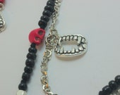 Suck Yo Blood Necklace and Earrings Set